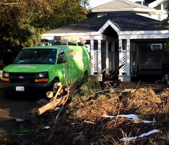 Storm Damage When Storms or Floods hit Chester, Hardin, Henderson or McNairy Counties, SERVPRO is ready!